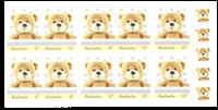 Australien - Teddybjørn - Postfrisk hæfte