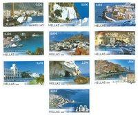 Grækenland - Græske øer 2008 - Postfrisk sæt 10v