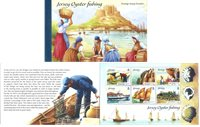 Jersey - Ostréoculture - Carnet de prestige neuf