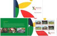 Jersey - Island Games - Postfrisk prestigehæfte
