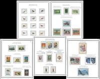Iran - Luksus postfrisk samling