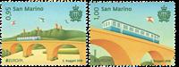 San Marino - Broer Europa - Postfrisk sæt 2v