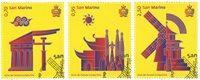 San Marino - Kina turismeår - Stemplet sæt 3v