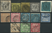 Etats allemands - Pays de Bade 1851-68