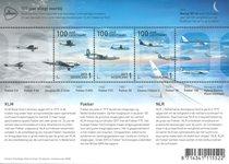 Netherlands - Aviation, 100 years - Mint souvenir sheet