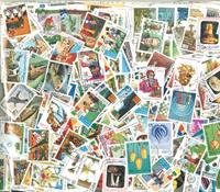 Koko maailma - 5000 erilaista leimattua postimerkkiä