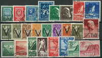 Norge - Parti - 1941-57