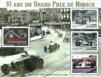 Monaco - Grand Prix Monaco - Postfrisk miniark