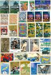 Japon - Timbres au kilo - Commémoratifs - 200 gr.