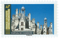 France - Château du Chambord - Timbre neuf