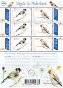 Pays-Bas - Oiseaux européens - Bloc-feuillet neuf