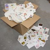 Tyskland - Parti med kuverter