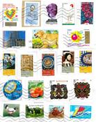 100克法国的邮票