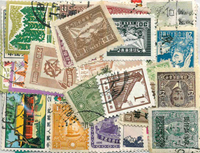 Chine - 55 timbres différents