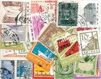 China - 32 verschillende postzegels