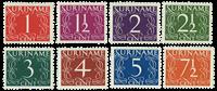 Surinam 1948-1951 - NVPH 249/56 - neuf