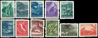 Suriname 1953-1954 - NVPH 297/307 - postfrisk