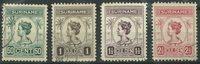 Surinam 1913-1926 - NVPH 100/03 - oblitéré