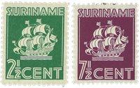 Suriname 1941 - NVPH 195/96 - ubrugt