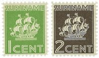 Surinam 1941 - NVPH 200/01 - Neuf avec charnière