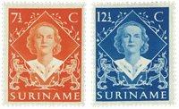 Surinam 1948 - NVPH 276/77 - Neuf avec charnière
