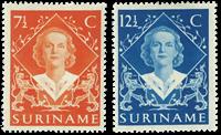 Suriname 1948 - NVPH 276/77 - ubrugt
