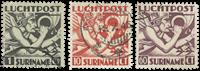 Surinam 1941 - NVPH LP20/22 - oblitéré