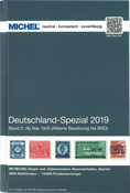 Michel Tyskland Specialkatalog II 2019 - fra maj 1945