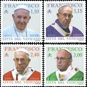 Vatikanet - Pave Frans - Postfrisk sæt 4v