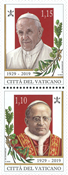 Vatikanet - Vatikanstaten og jubilæum - Postfrisk sæt 2v