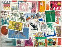 Allemagne de l'Ouest - Lot de doublons 1969-89
