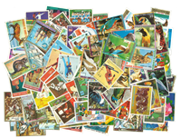 Guinée Equatoriale - 380 timbres diff.