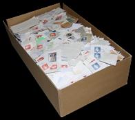 Danemark - Timbres au kilo - Boîte de 3 kg - Petits formats