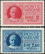 Vaticano 1929 - Espressi Conciliazione - serie 2 val. nuovi