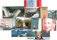 Grønland - Frimærkehæfter - 1999-2001