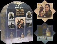 Brazilië - Kerstlied Stille nacht, heilige nacht - Postfris souvenir velletje