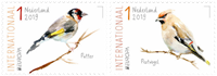 Netherlands - European birds - Mint set 2v