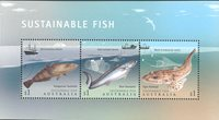 Australien - Fisk - Postfrisk miniark