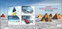 Antarctique Australien - Station Casey - Bloc-feuillet neuf