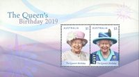 Australien - Dr.Elizabeths fødselsdag - Postfrisk miniark