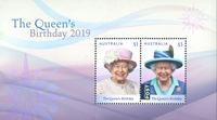 Australie - L'anniversaire de la Reine Elisabeth - Bloc-feuillet neuf