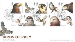 Grande-Bretagne - Oiseaux de proie - Env.premier jour