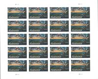 Etats-Unis - Alabama Statehood - Feuillet neuf- max. 20 timbres