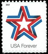 Etats-Unis - Ruban étoile - Timbre neuf