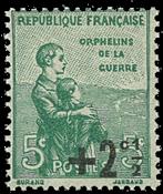 Frankrig 1922 velgørenhed * - Postfrisk