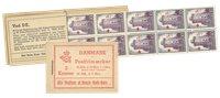 Danmark - 2 kr hæfte stålstik  - AFA16
