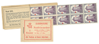 Danmark - 2 kr hæfte stålstik  - afa nr.16