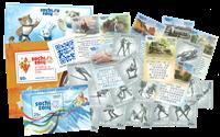 Rusland - Vinter OL Socchi og OL turistbyer - Postfrisk sæt