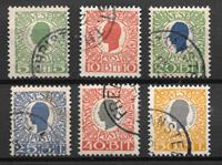 Antilles danoises  - AFA 24-29 - Oblitéré