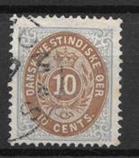 Antilles danoises  - AFA 11b - Oblitéré